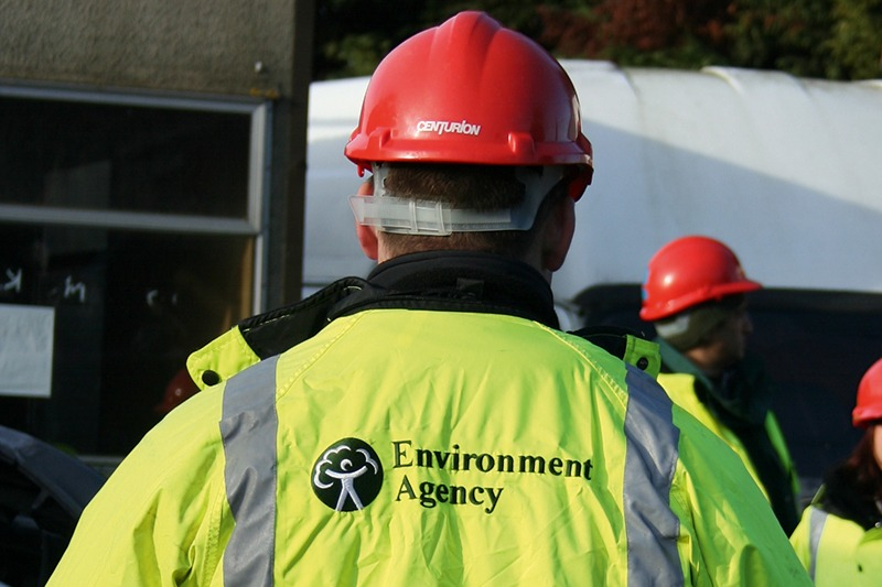 Environment Agency officer