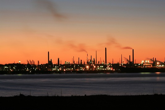 Fawley oil refinery