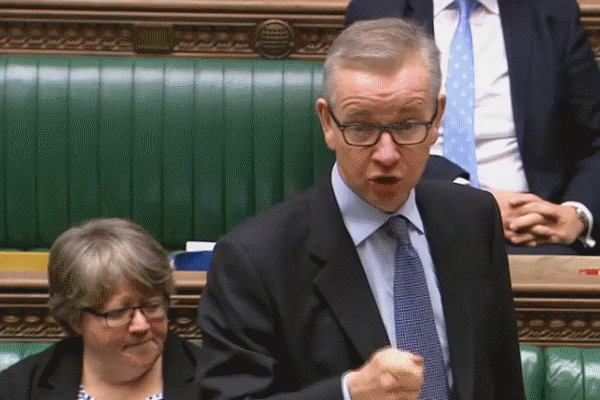 Michael Gove speaks at the Commons debate on Brexit and the environment, 10 Jan 2019
