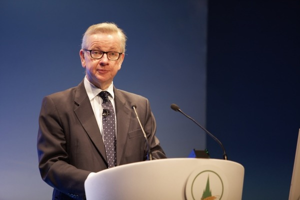 Michael Gove speaks at the Oxford Farming Conference