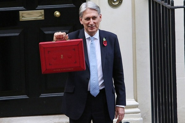 Philip Hammond's budget box