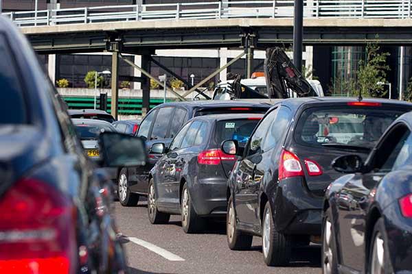 heavy traffic vehicles emissions