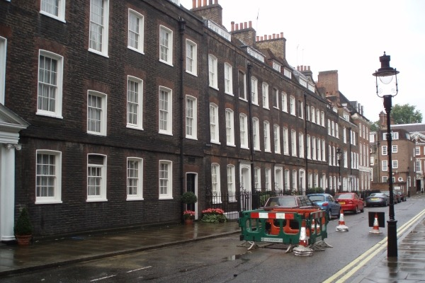 Lord North Street, HQ of the IEA