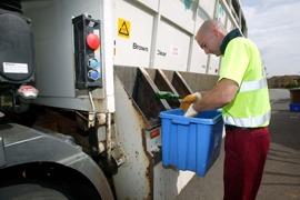 Kerbside sorting, Recycle Now