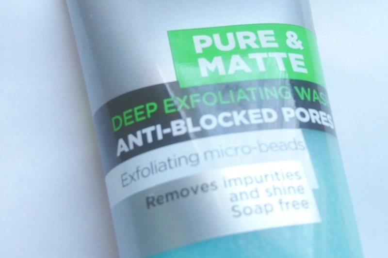 Face scrub containing microbeads - now a banned product in the UK