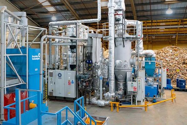 The RT7000 pilot plant in Swindon