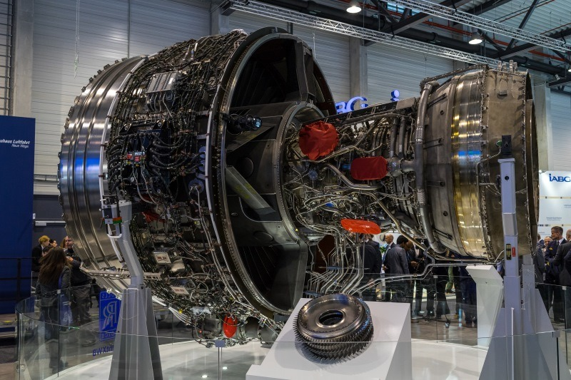 Rolls-Royce Trent XWB jet engine