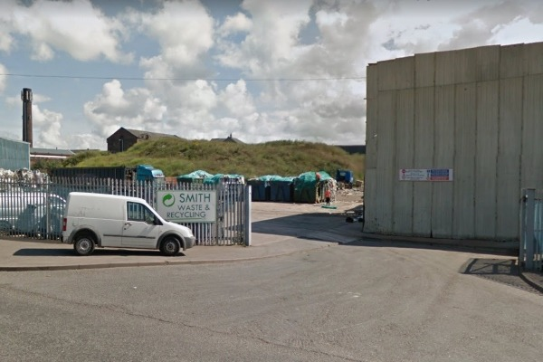 Smith Waste & Recycling site