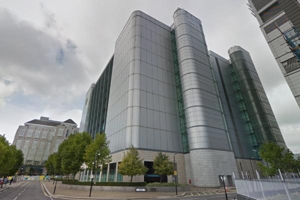 Part of Telehouse's Docklands site