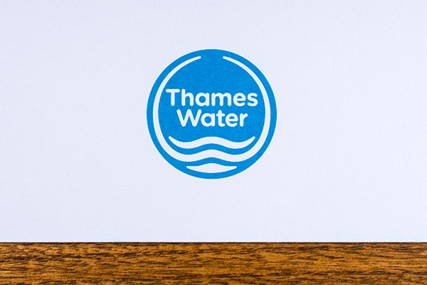 Thames Water sign