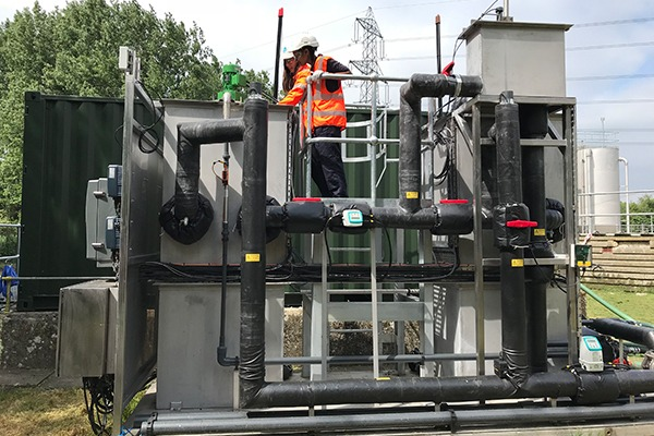 Novel wastewater treatment plant being trialled by Thames Water