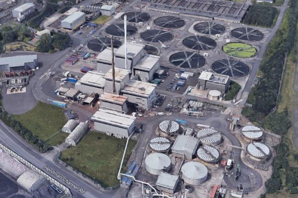 Veolia Water's sewage sludge incinerators in Belfast