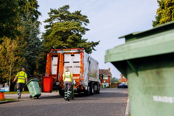Domestic waste collection