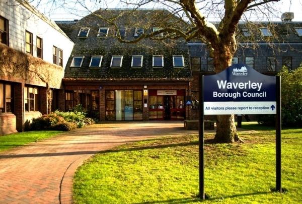 Waverley Borough Council offices