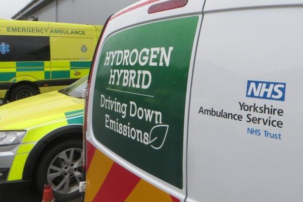 Hydrogen-powered ambulance