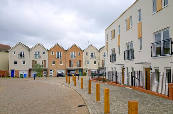 Housing development, Bracknell, England