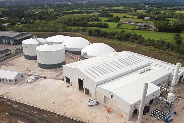 Poultry biogas plant Northern Ireland