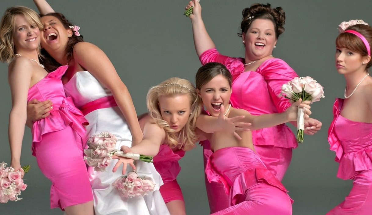 Melissa McCarthy and the cast of Bridesmaids