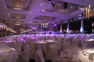 Hilton Park Lane hotel ballroom