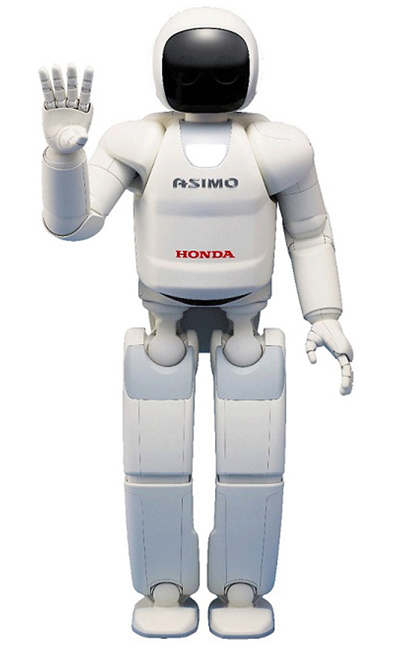 ASIMO the robot at Honda Dealer Conference 2013