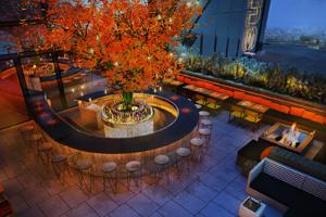 Tree Bar, Sushi Samba, London