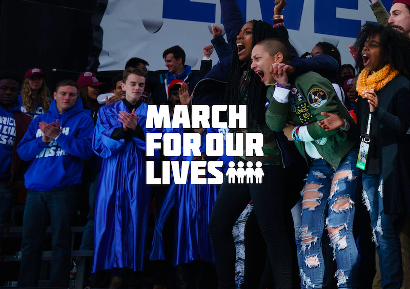 students of the March for Our Lives movement