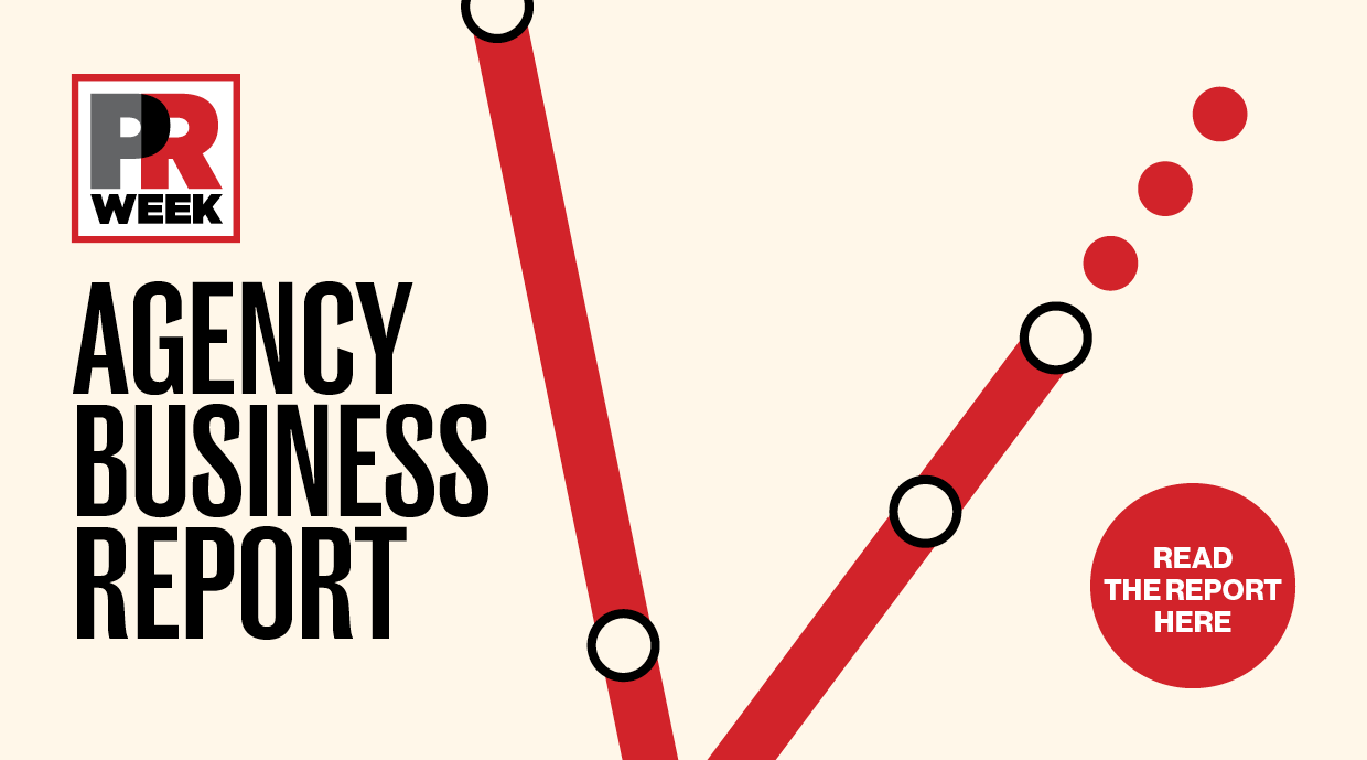 button to read 2021 PRWeek Agency Business Report