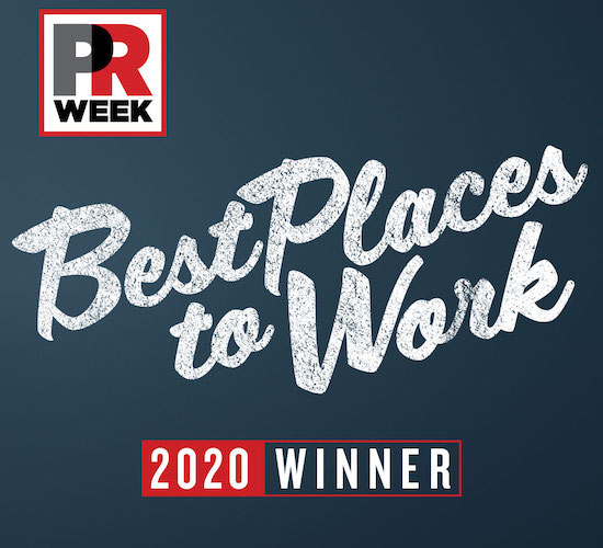 PRWeek Best Places to Work 2019
