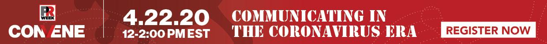 banner to register for the communicating during coronavirus webinar