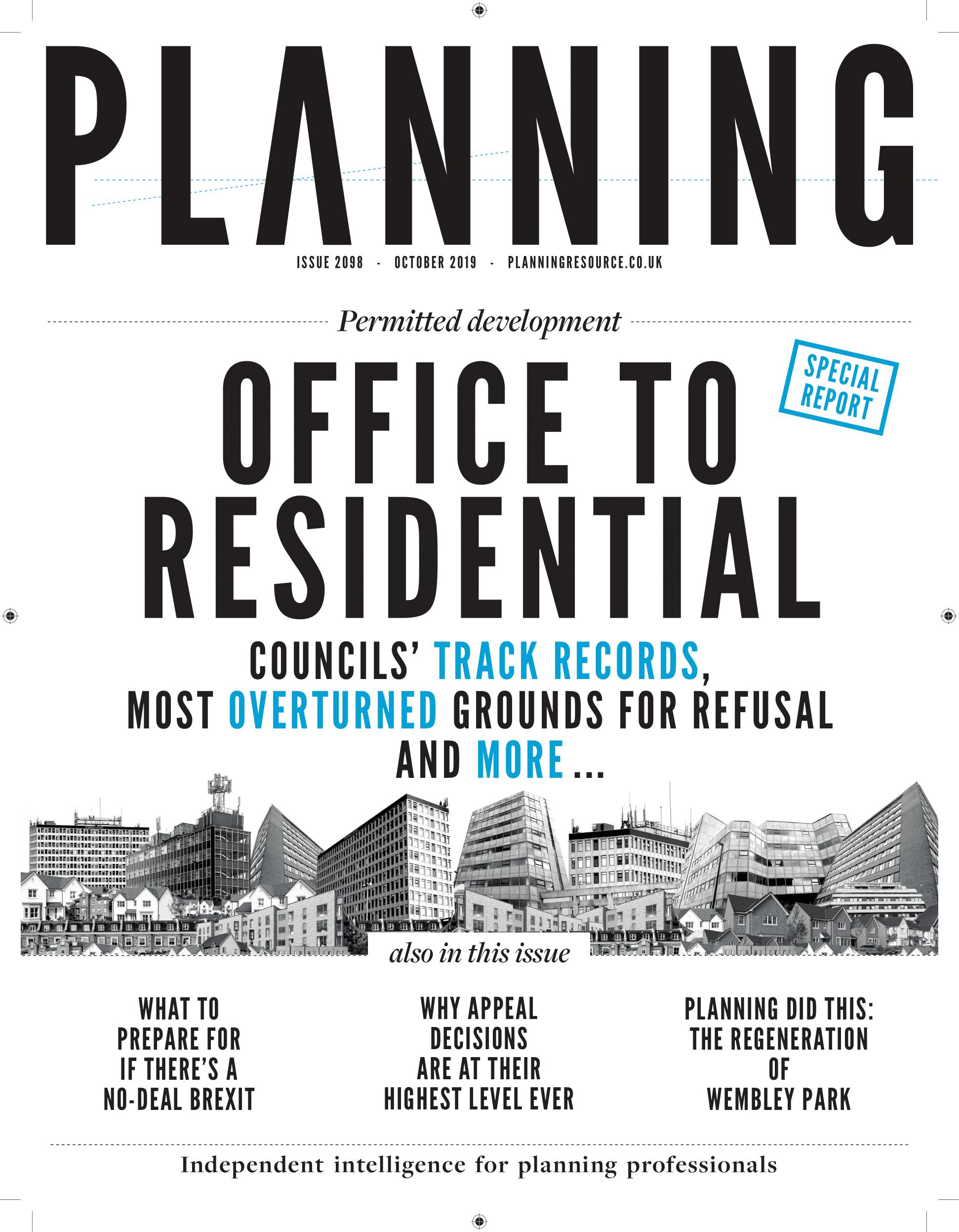 Planning October 2019