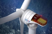 Alstom Haliade 150 offshore wind turbine