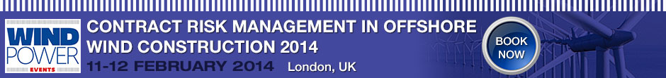 Contract Risk Management Offshore Wind Construction 2014